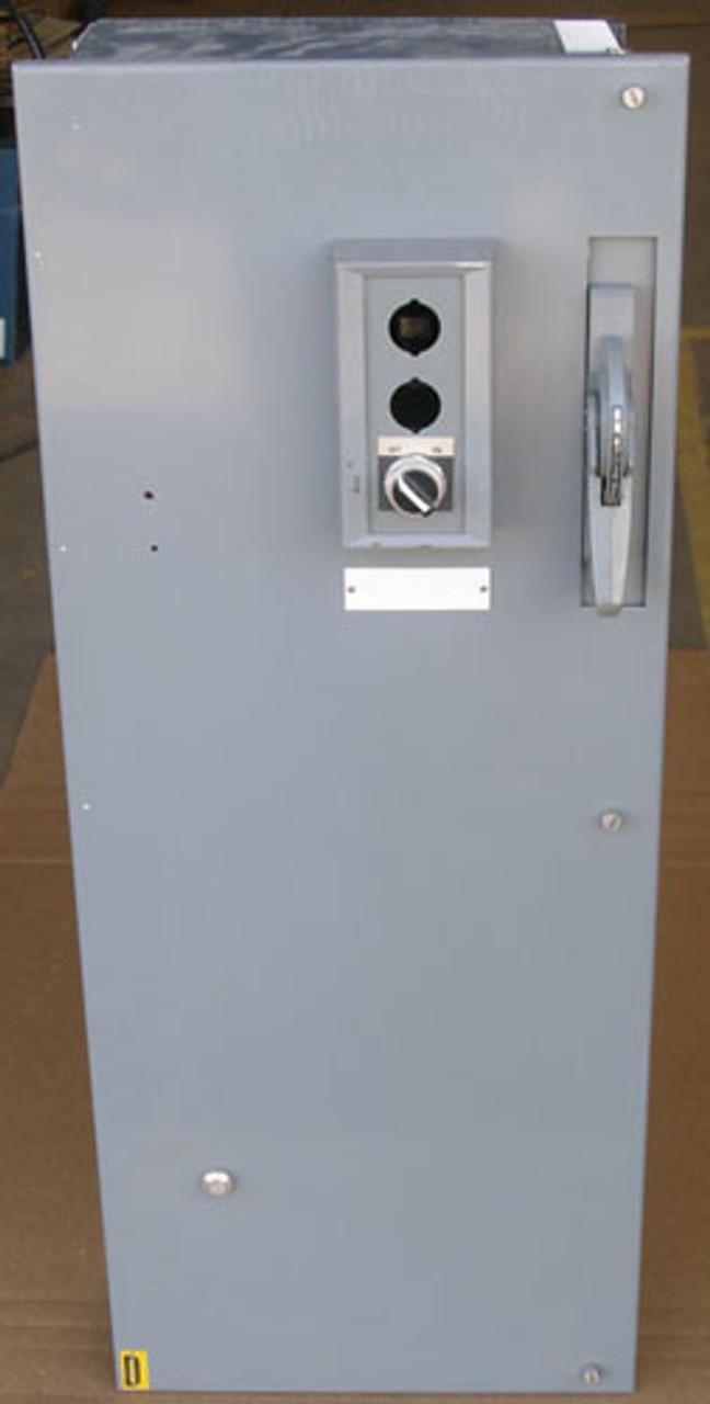 Allen-Bradley Size 3 Fusible Starter Bucket 3PH 90A 480V Series G - Used