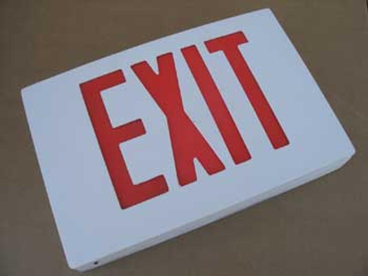Best Lighting KXTE - Cast Aluminum LED Exit Sign - New