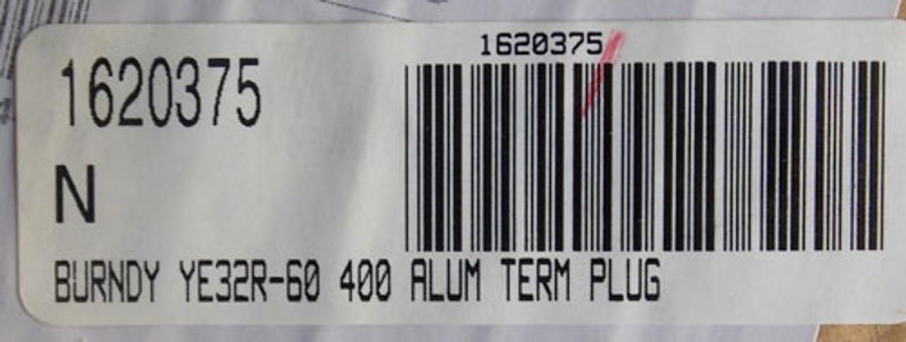 Burndy YE32R-60 400A Aluminum Terminal Plug - New