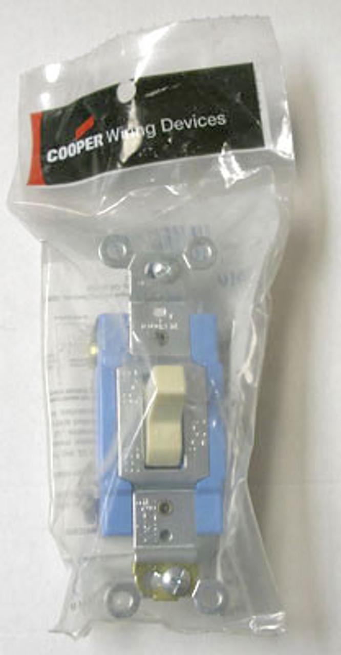 Cooper 1201V Single Pole 15A 120-277V Switch (Box of 10) - New