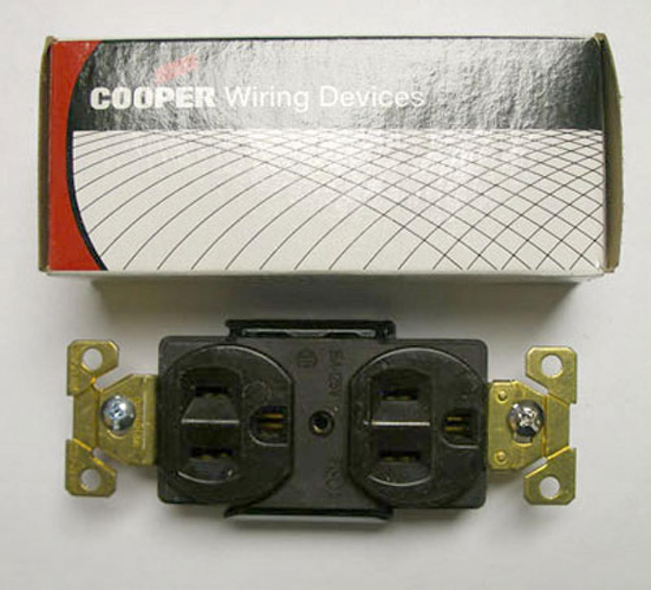 Cooper 5262B Brown Nema 5-15R Duplex Receptacle (Lot of 3) - New
