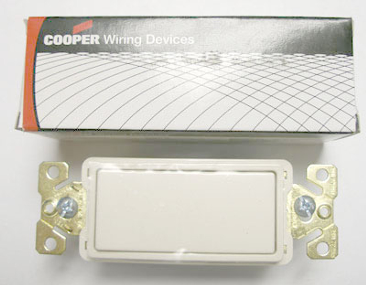 Cooper 7623LA Light Almond Decorator Commercial Switch - New
