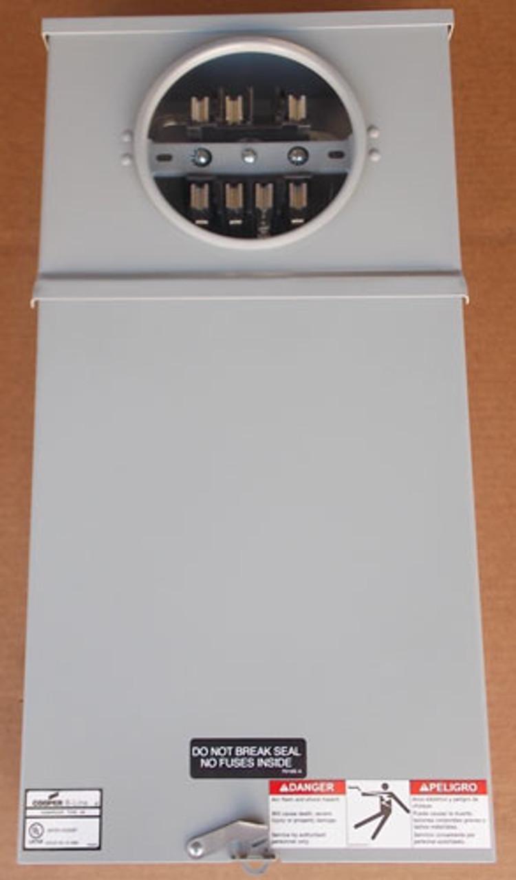 Cooper B-Line 117TB 125 Amp 600V 3PH Commercial Meter Socket N3R - New
