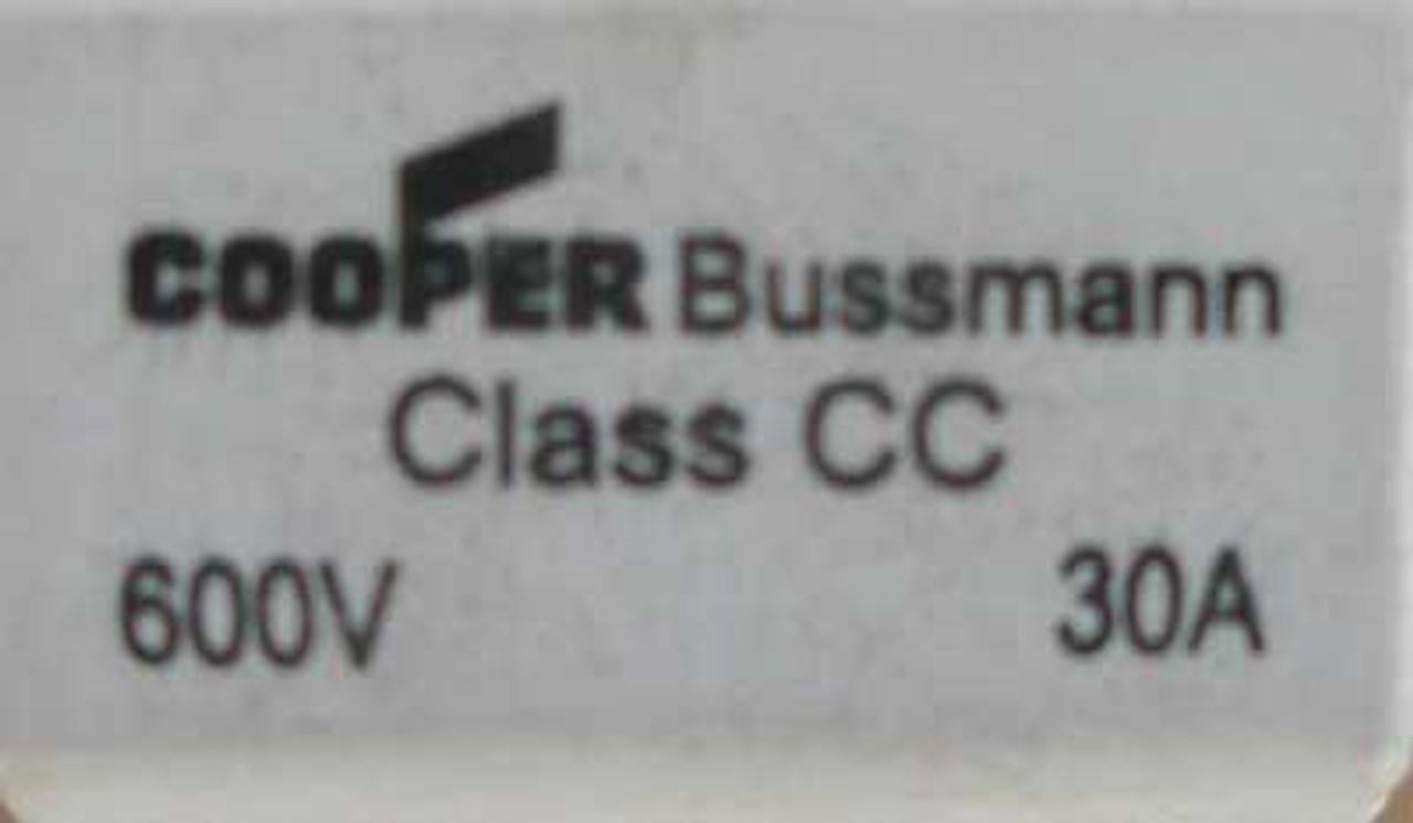 600VAC /& CLASS CC PN# CHCC1 1POLE Details about  /BUSSMANN FUSE HOLDER 30A