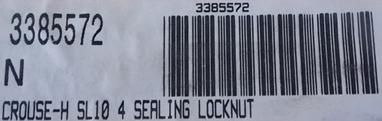 Cooper Crouse-Hinds SL10 4 In. Sealing Locknut Steel (Lot of 5) - New