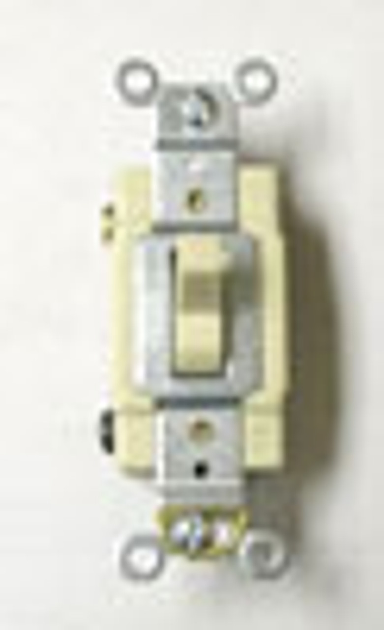 Cooper CSB315V Ivory 15A 3Way Commercial Switch Sold in Box of 4 - New