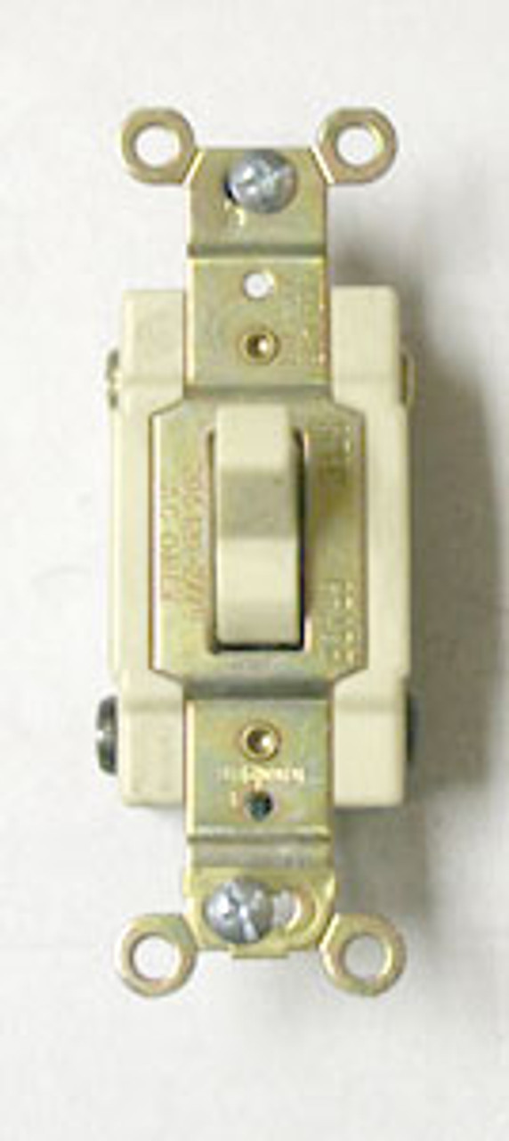 Cooper CSB420V 15A 4W Ivory Commercial Switch - New