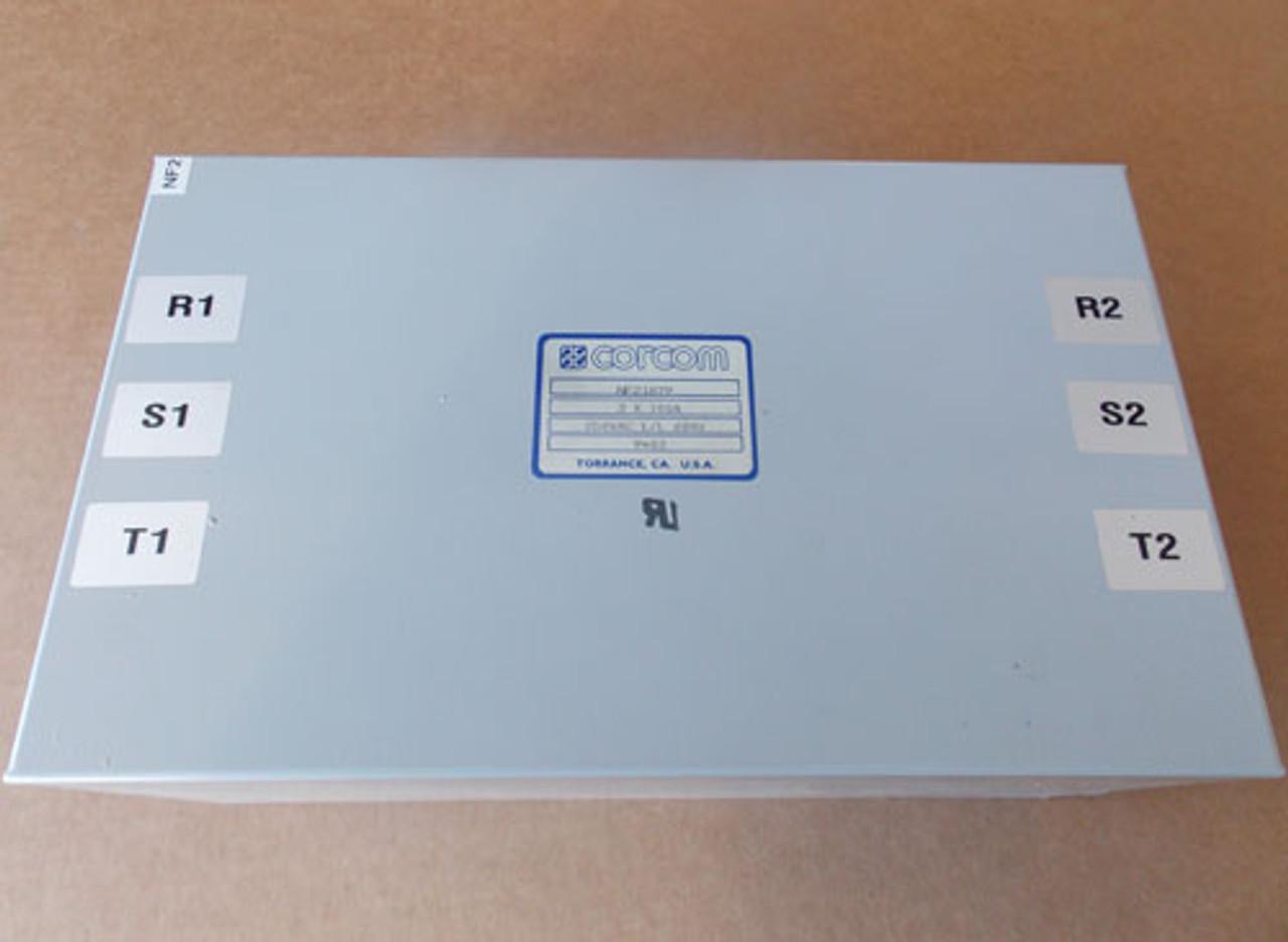 Corcom NF21879 EMI Filter 3 x 100 Amps, 250 VAC L/L 60Hz - Used