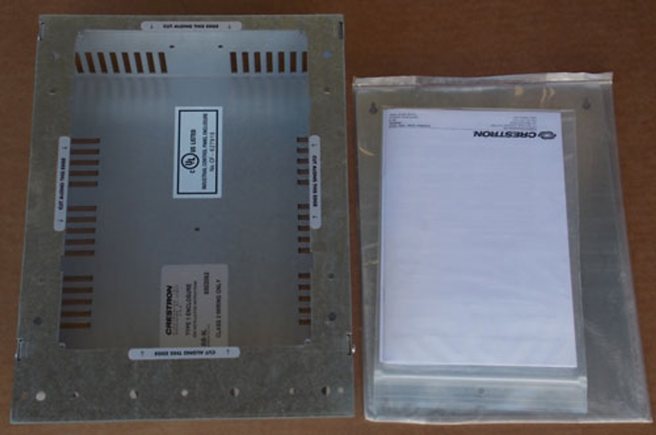 Crestron BB-9L Back Box for TPMC-9L Nema 1 Enclosure