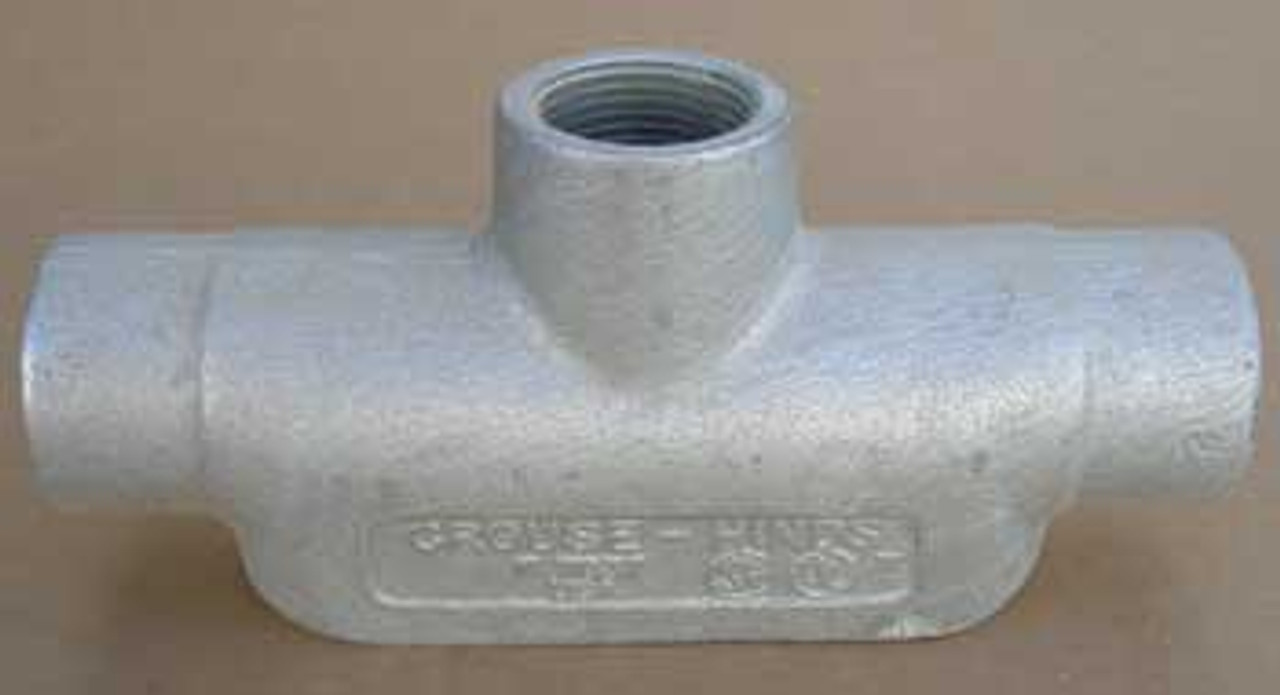 """Crouse Hinds TB37 Conduit Outlet Body, 1""""  (Lot of 2) - New"""
