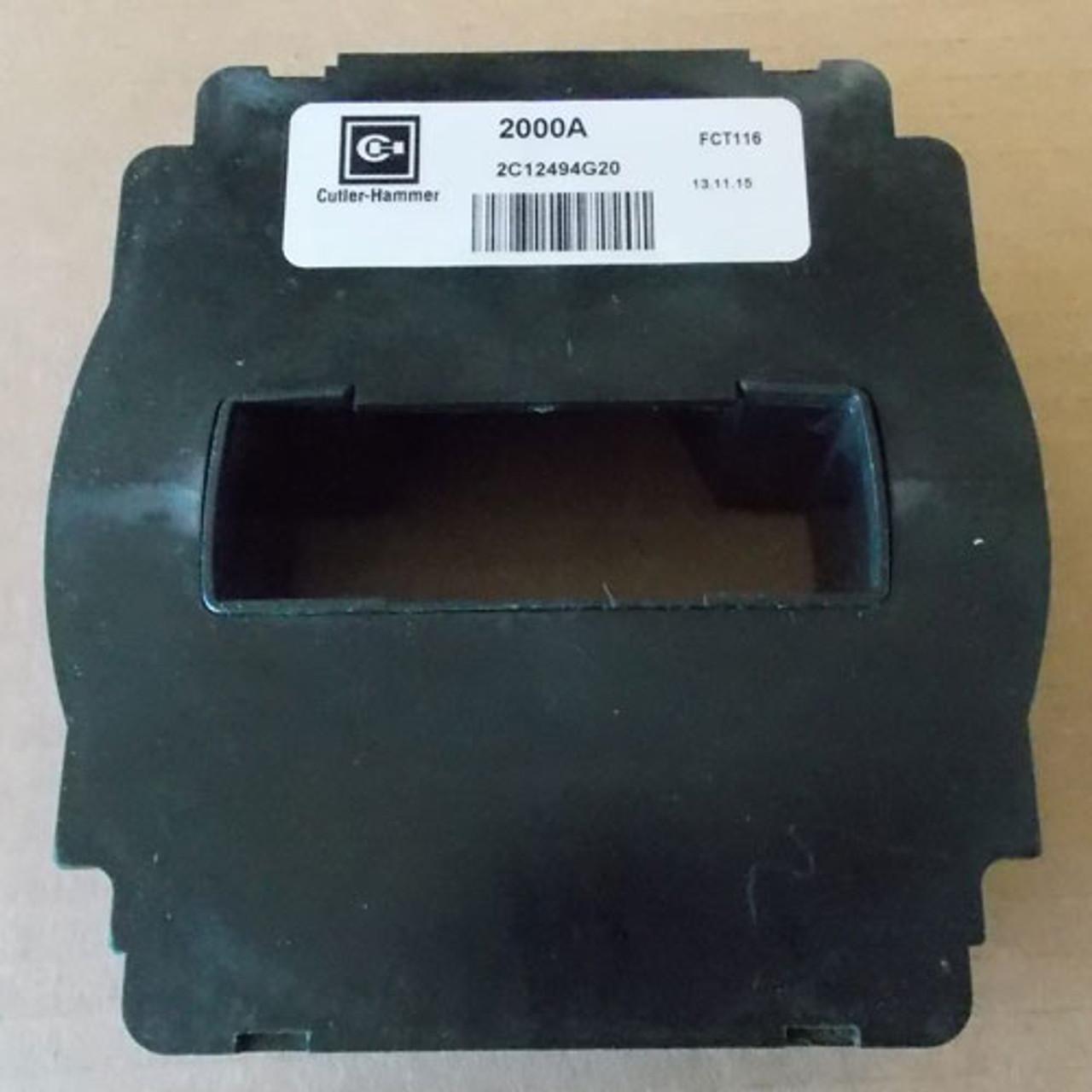 Cutler Hammer 2C12494G20 FCT116 Current Sensor 2000 Amp - New