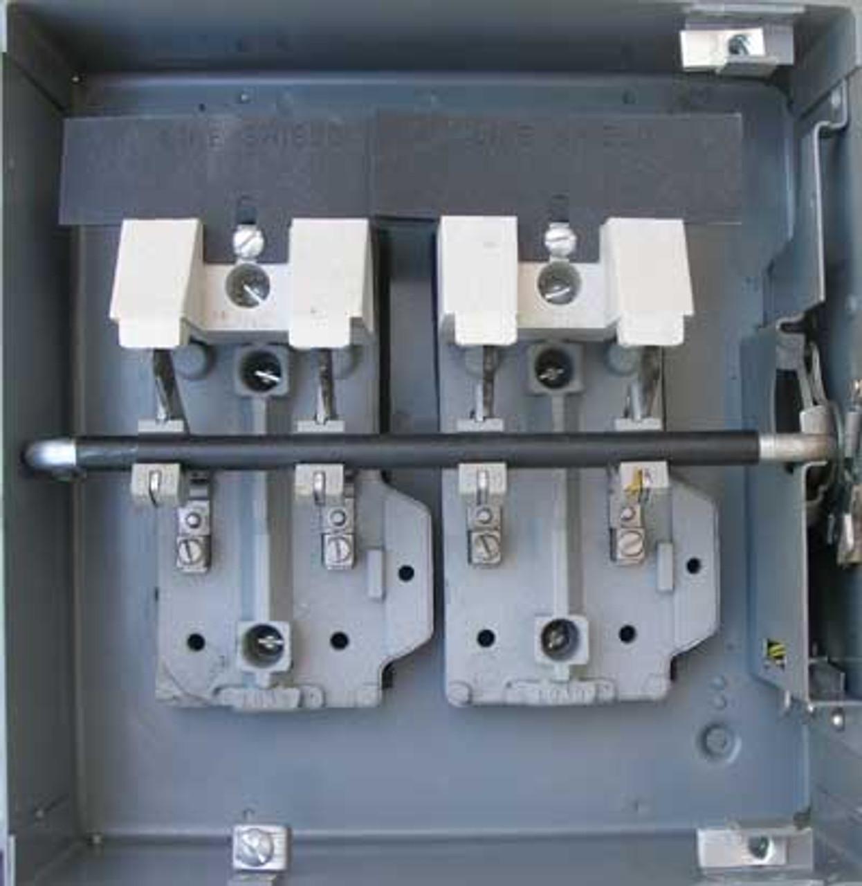 Cutler Hammer 4105H2431H Heavy Duty Safety Switch 4P 30A 600V 20HP