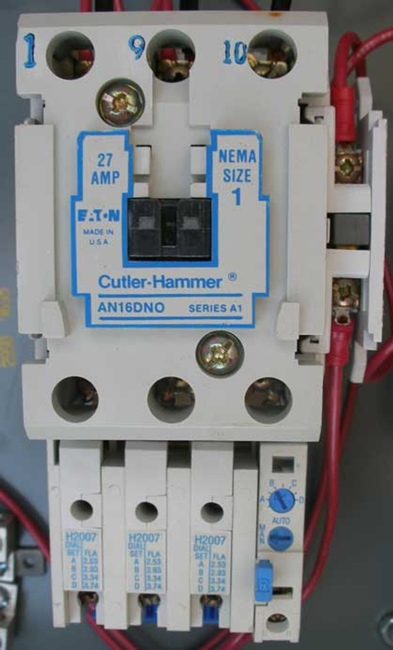 Cutler Hammer AN16DN0 Service Disconnect 27A 460V 3 Phase N1 - Recond