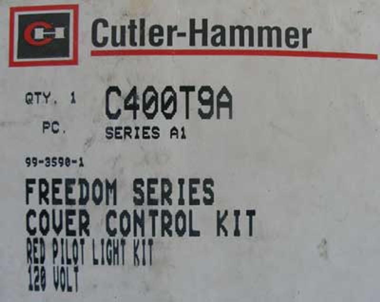 Cutler Hammer C400T9A 120V Red Pilot Light Kit
