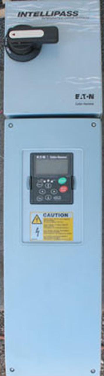 Cutler Hammer Intellipass HVX02514B1 25 HP 480V Adj Frequency Drive - Used