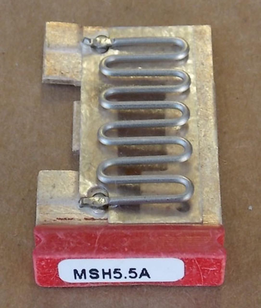 Cutler Hammer MSH5.5A 4.40 - 4.79A Overload Relay Heater Element (3Pc) - New