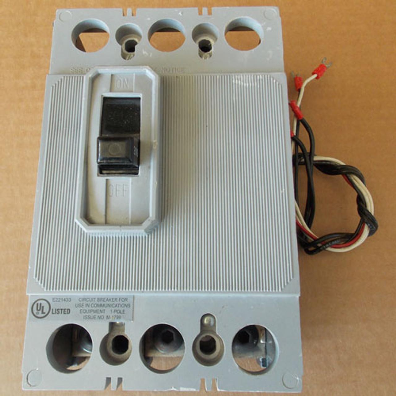 Electric Equipment EEQB200 3 Pole 600 Amp 80 VDC Circuit Breaker - Used