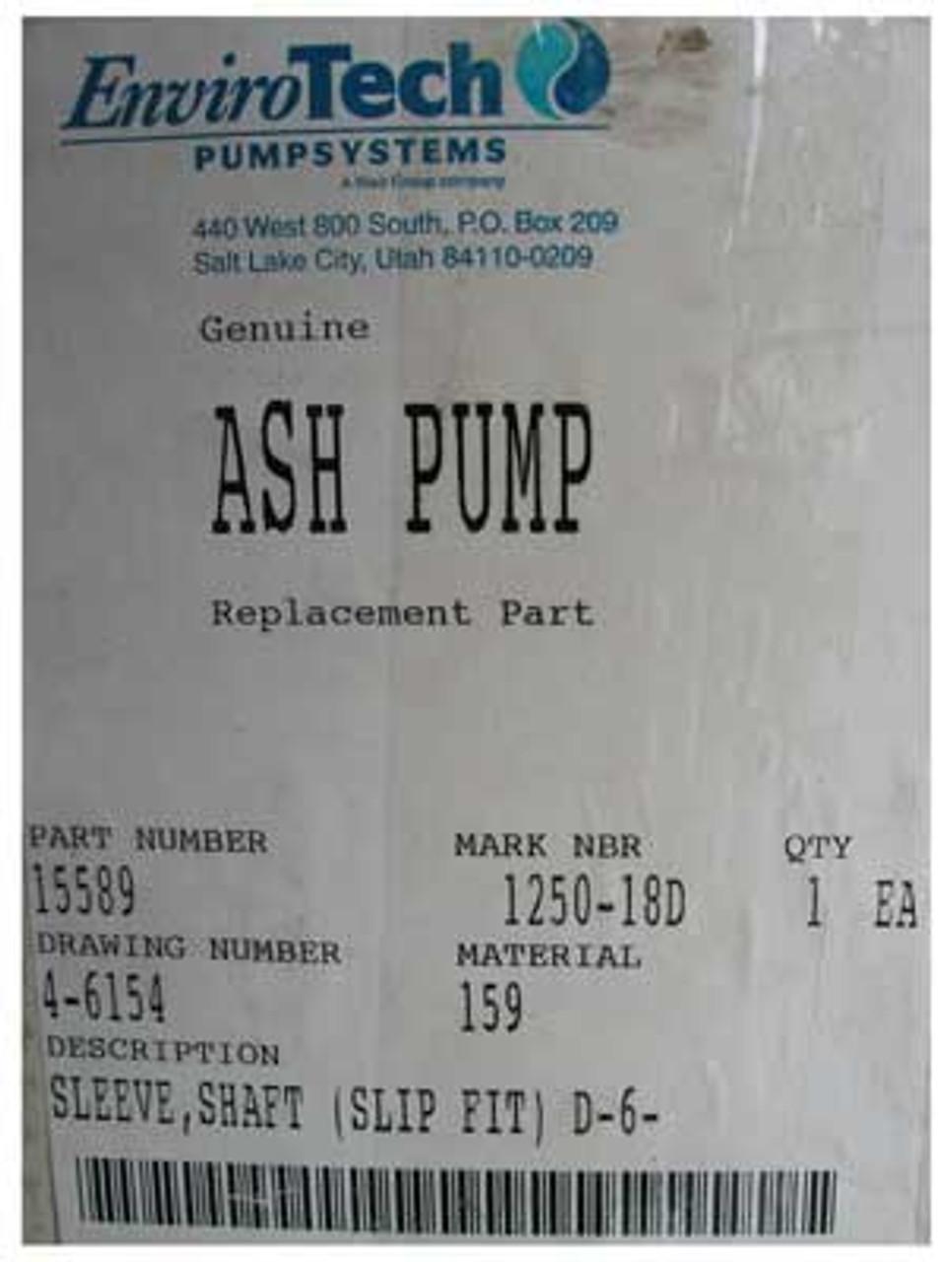 EnviroTech #15589 Genuine Ash Pump Replacement Part