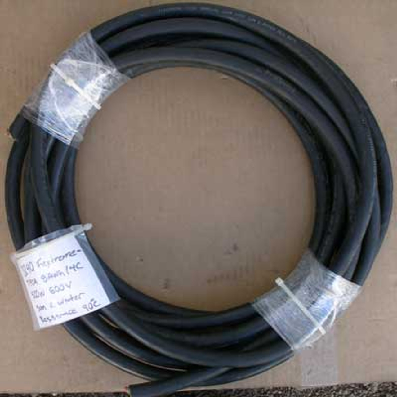 Flextreme SOOW 600V TFCA 8 AWG 14C Sun & Water Res 90 Deg Cable-35' - New