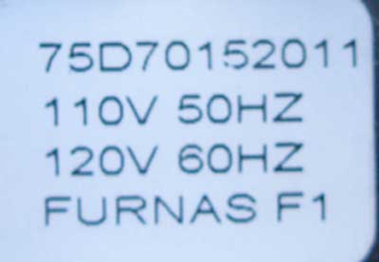 Furnas 42CF35AFBSV 3P 40A 120V Def Purpose Contactor Open