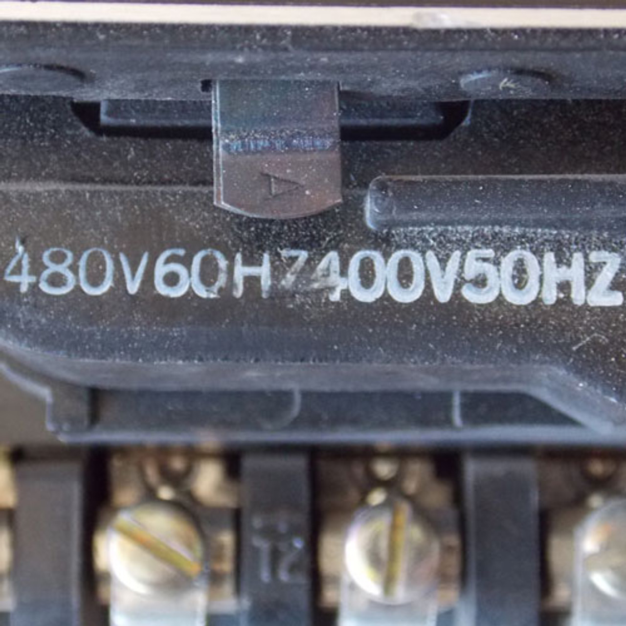 GE CR205C0 Size 1 Magnetic Contactor 3 Phase 600V 480V Coil - Used