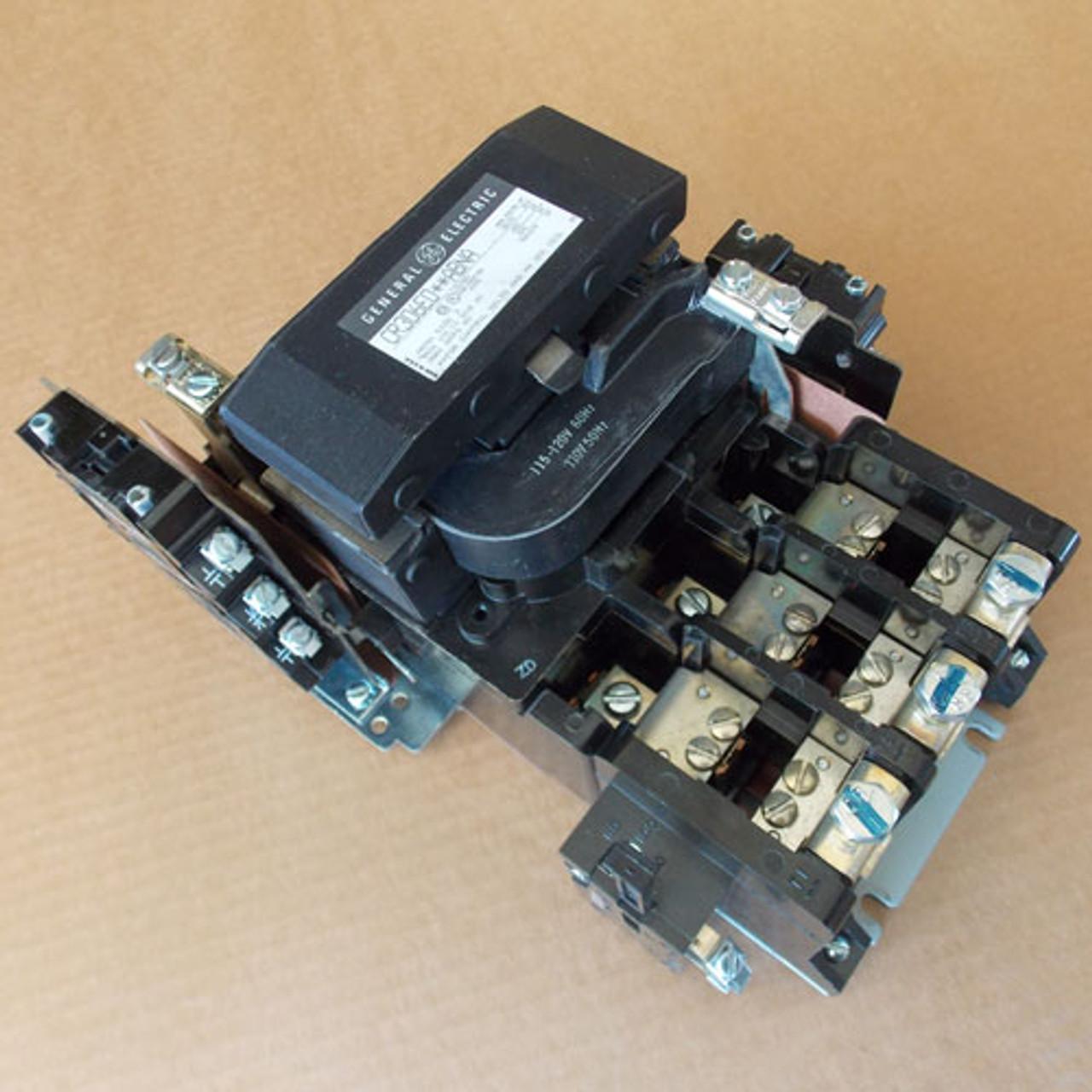 General Electric CR306E0**ABNA Size 3 Magnetic Starter 3P 120V Coil - Used