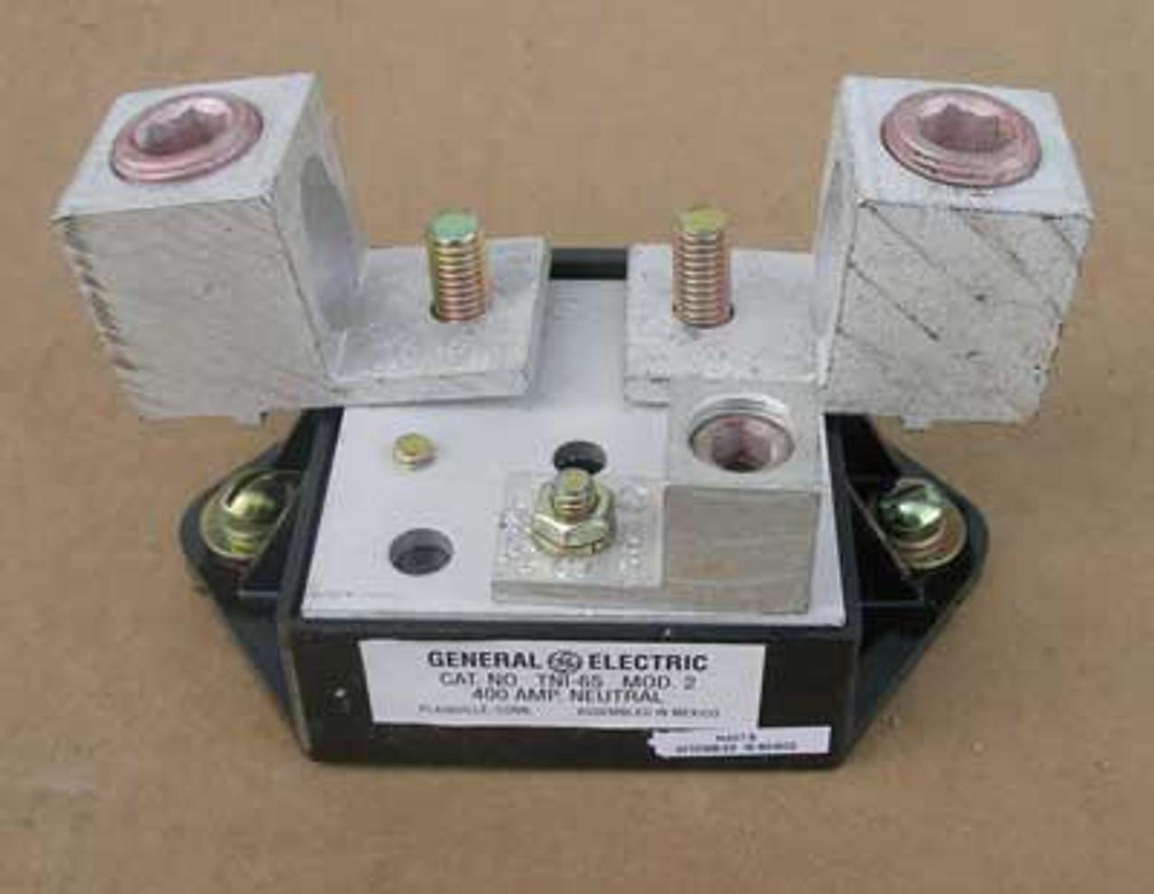 GE Insulated Groundable Neutrals TNI65 400 Amp 600V