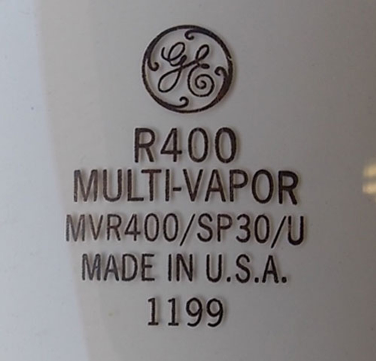 GE MVR400/SP30/U 400W E-37 Bulb Coated Multi-Vapor Quartz Metal Halide