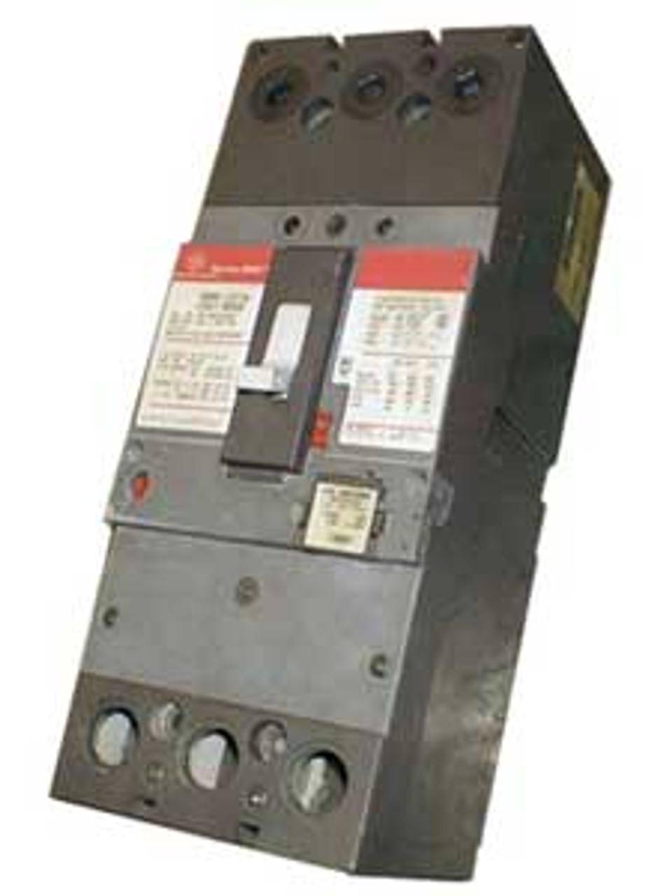 General Electric SFLA36AT0250 3P 250A 600V 225A Trip Circuit Breaker - New