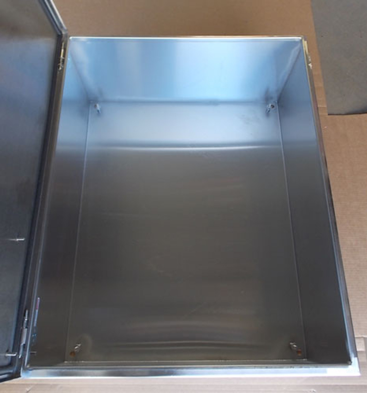 Hoffman CSD302412SS 30x24x12 in. SS Concept Wall-Mount Type 4X Enclosure