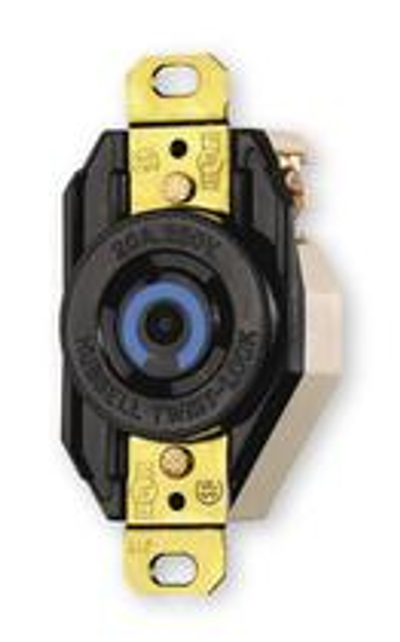 Hubbell IG2320A Iso. Ground TwistLock 20A 250V 2 Pole Receptacle - New