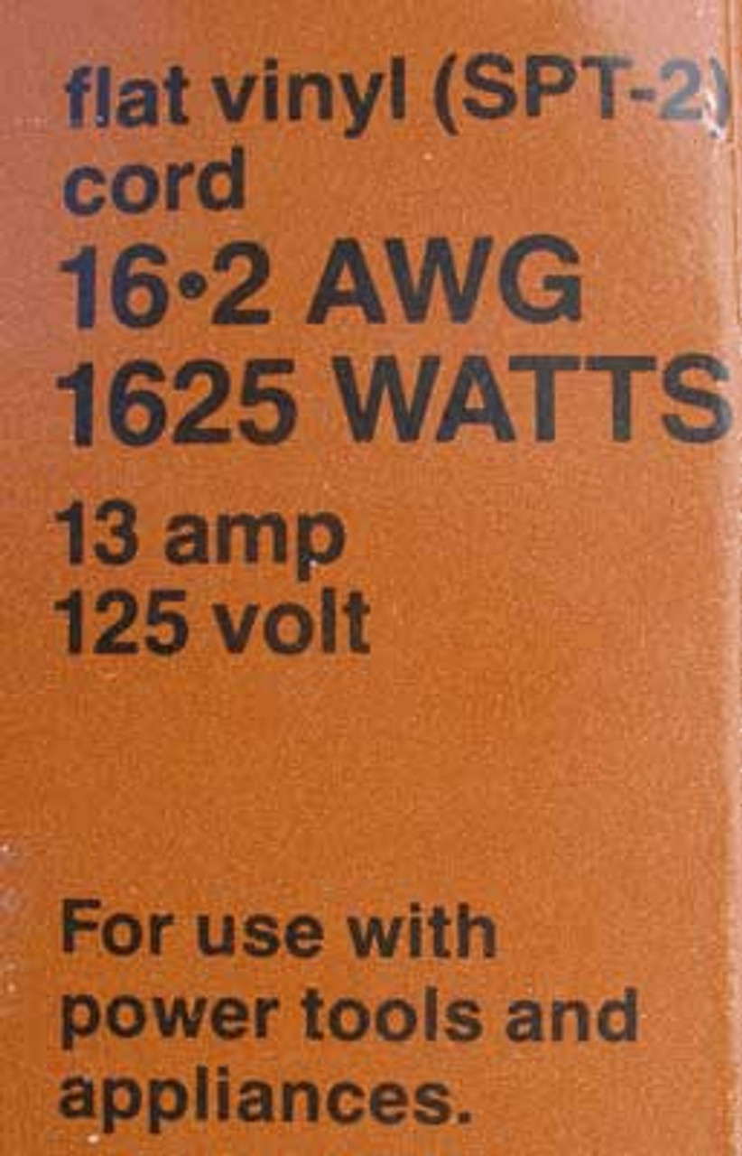 Leviton 50' Heavy Duty Indoor Extension Cord 1625 Watts