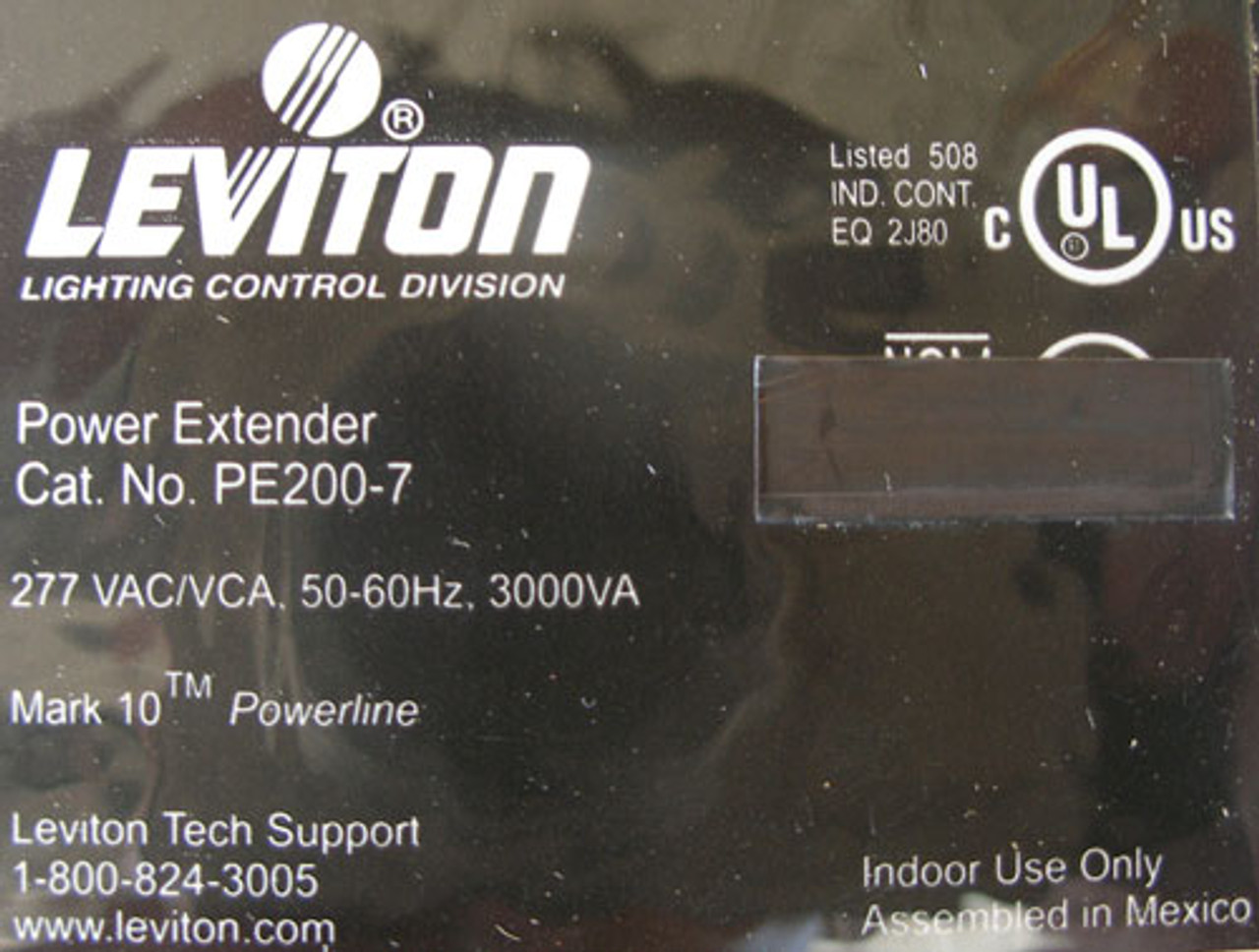 Leviton PE200-70W 277VAC 50/60Hz 3000VA Power Extender V1.0