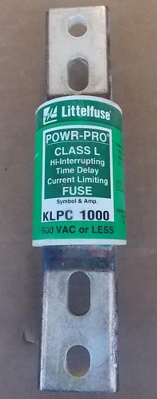 Littelfuse POWR-PRO KLPC 1000A 600VAC Class L Hi-Interrupting Time Delay Fuse