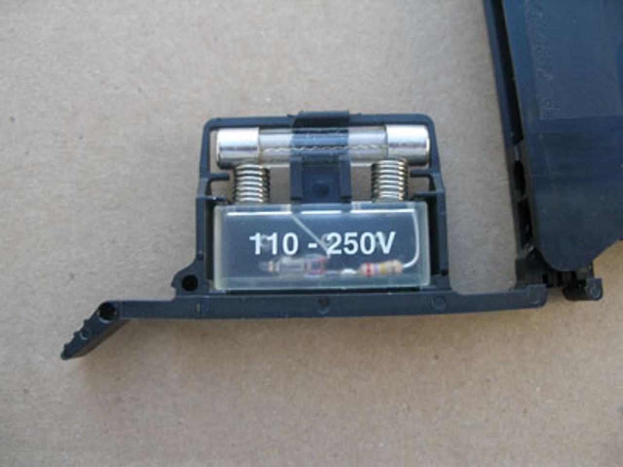Phoenix Contact UK 6.3-HESI Fuse Term Blocks 110 - 250V (Lot of 5)