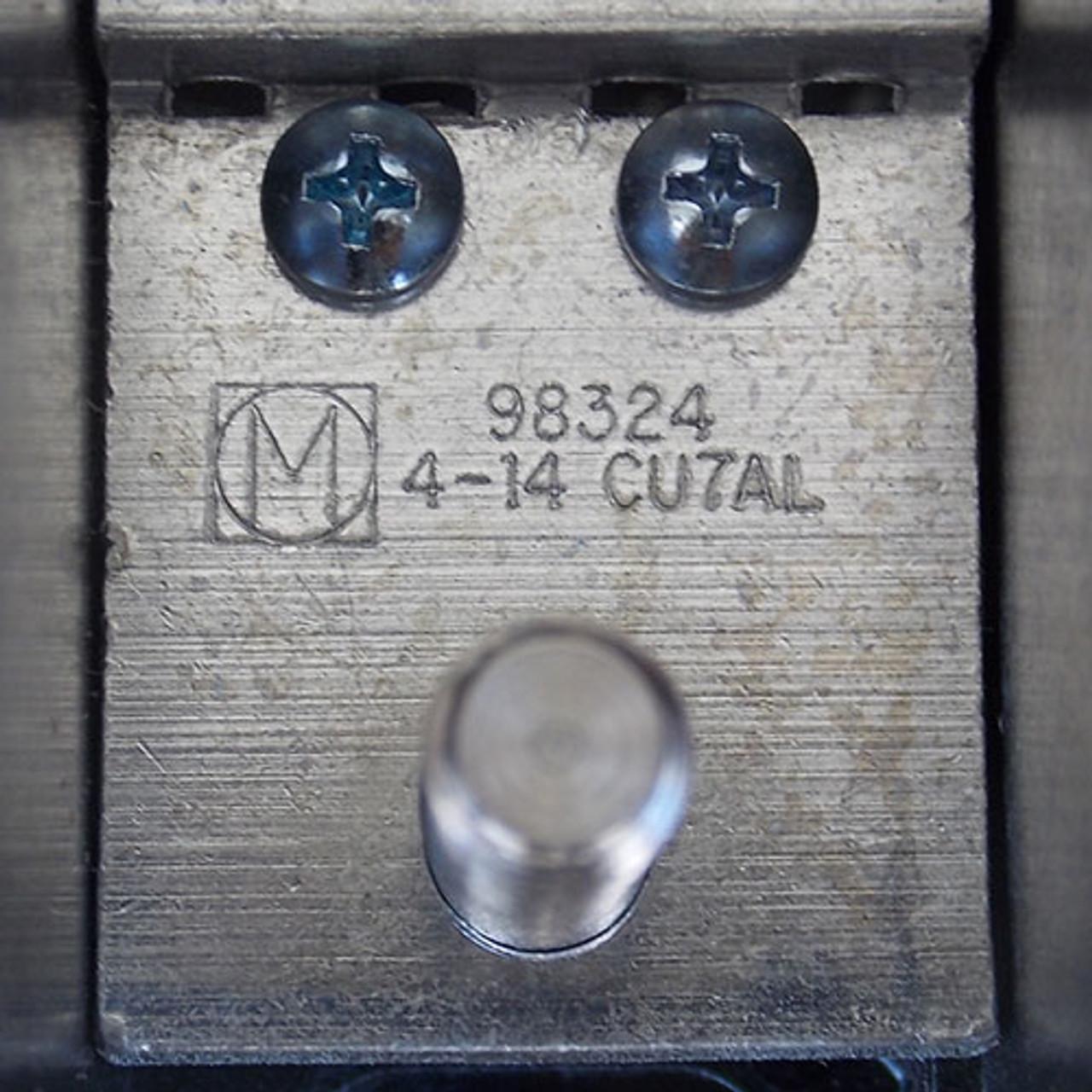 Marathon 1332273CH 2 Pole 510 Amp 600V Power Distribution Block - New