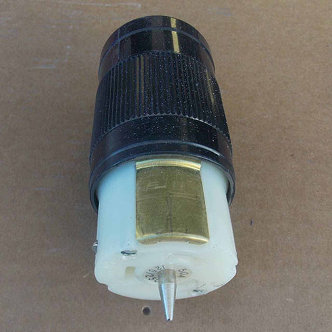 20 Amp 250v 3 Phase Twist Lock 4 Pole Receptacle Used Bryant Hubbel