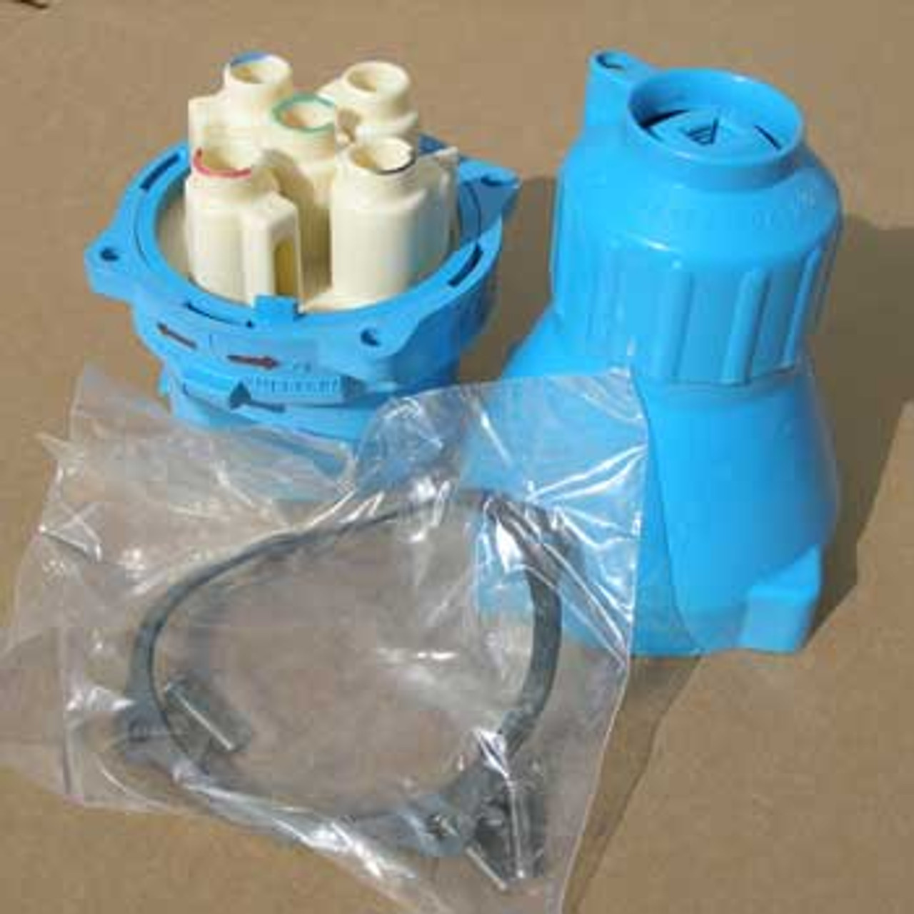 Meltric 31-61243 90 Amp 480 Volt Plug, Type DR