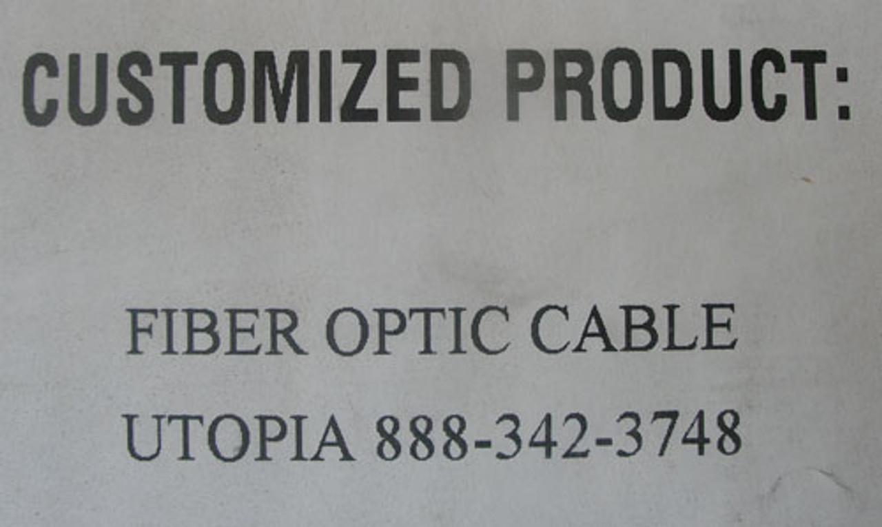 Multilink 74537K Fiber Optic Cable (Lot of 257) - New