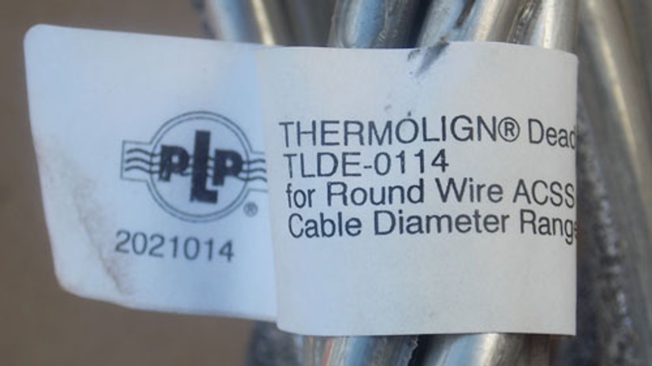 PLP TLDE-0114 Thermolign Dead-End Structural Reinforcing Rods - New