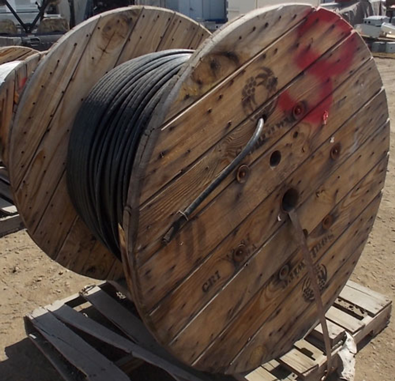OFS AT-3BE12TT-288 Dry Block Single Jacket All-Dielectric Optical Cable 2112' - New