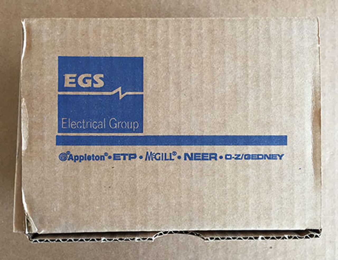 "Oz Gedney 4Q-300 3"" Liquidtight Straight Steel Connector - New"