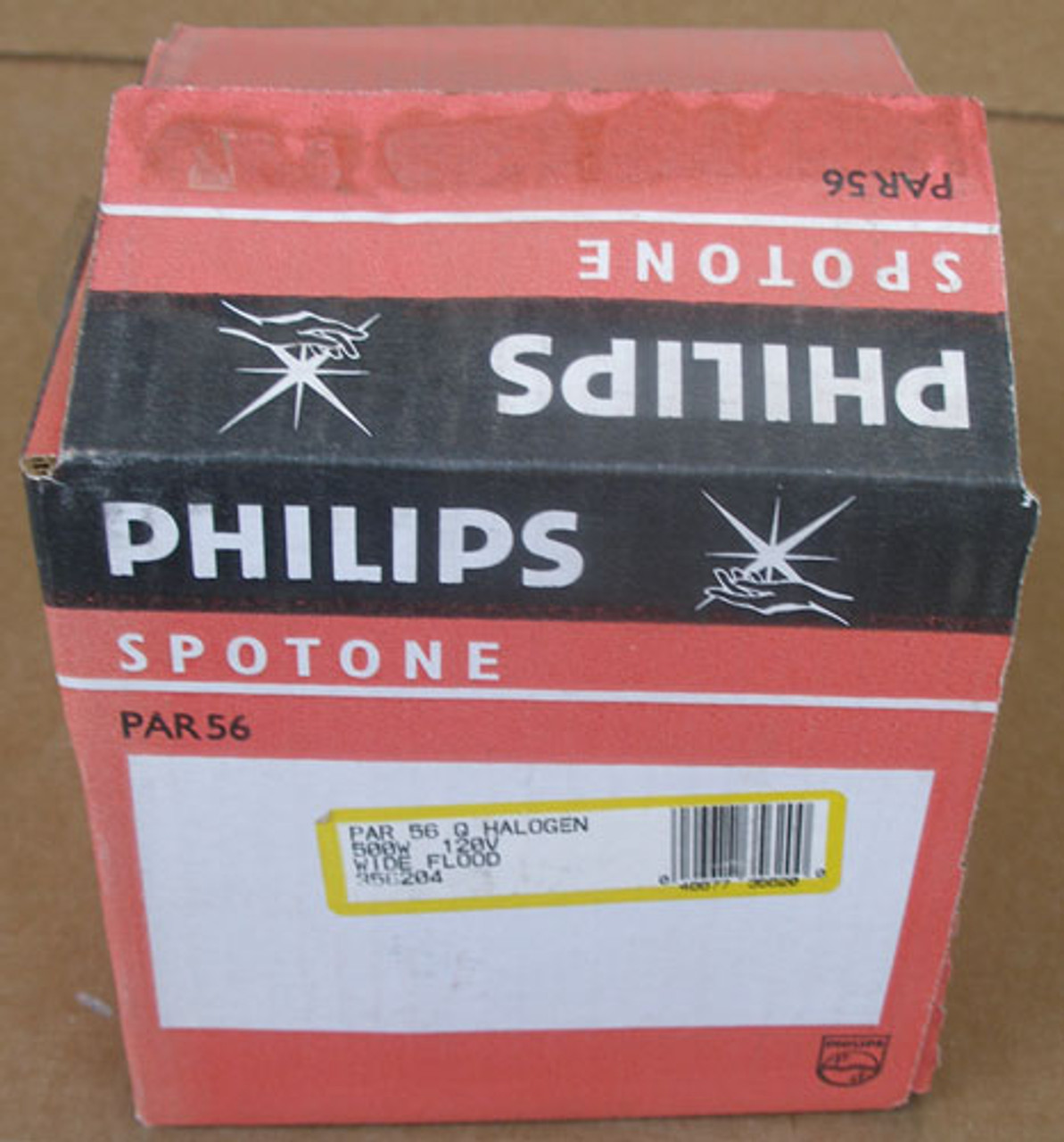 Philips 356204 PAR 56 Q Halogen Wide Flood Bulb 500 Watt 120V - New