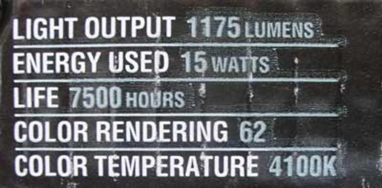 Philips F15T8/UTILITY/24 15 Watt 24 Inch Fluorescent Bulb (Lot of 3)