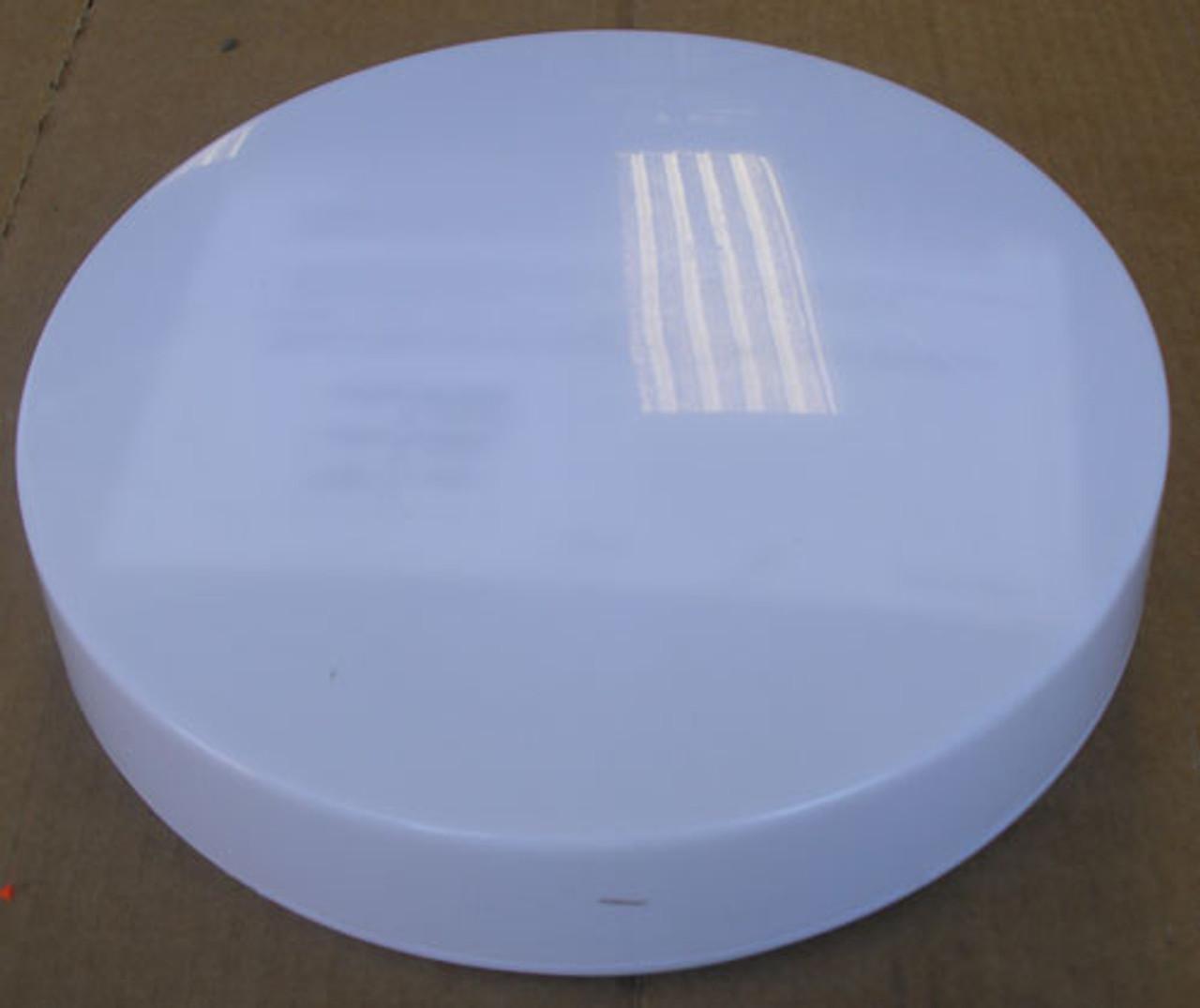 Progress Lighting P7376-30 120V Hard-Nox Two-Light Flush Mount in White