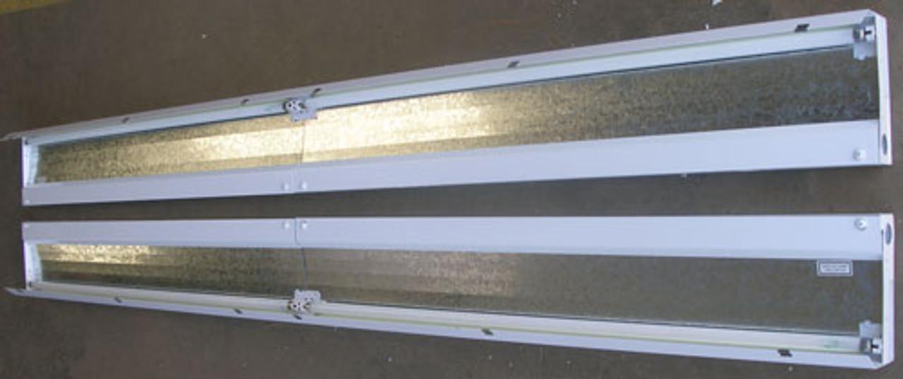 "Prudential SC-06-1T5 6'x6"" 120/277V Ballast Flourescent Luminaire - Lot of 2 - New"
