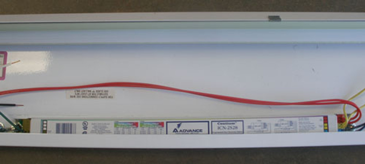 "Prudential SC-08-1T5 8'x6"" 120/277V Ballast Flourescent Luminaire 2 Pc - New"