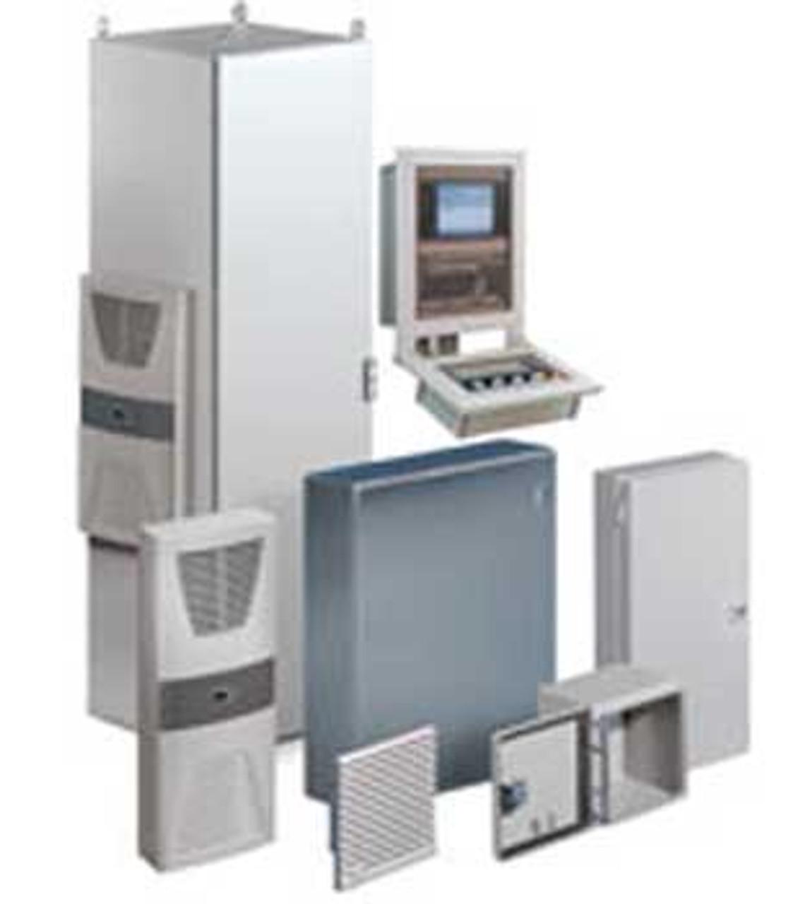 Rittal 1213600 AE 1000x1200x300 Carbon Steel Wallmount Enclosure - New