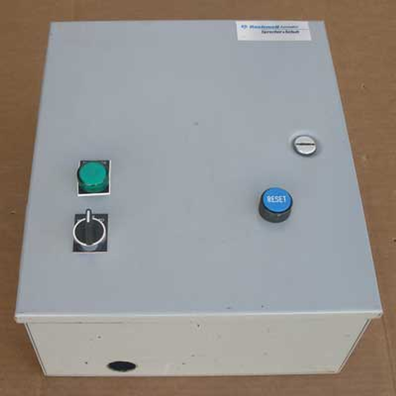 Rockwell S&S 3-37-XC-32-G7 Full Voltage Starter 120V - Used