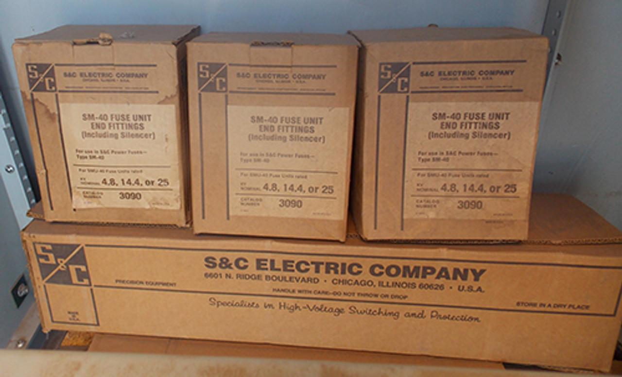 S&C CDA-766172 600 Amp Nema 3R 17.0 KV 3 Phase Fusible Enclosed Switchgear - New